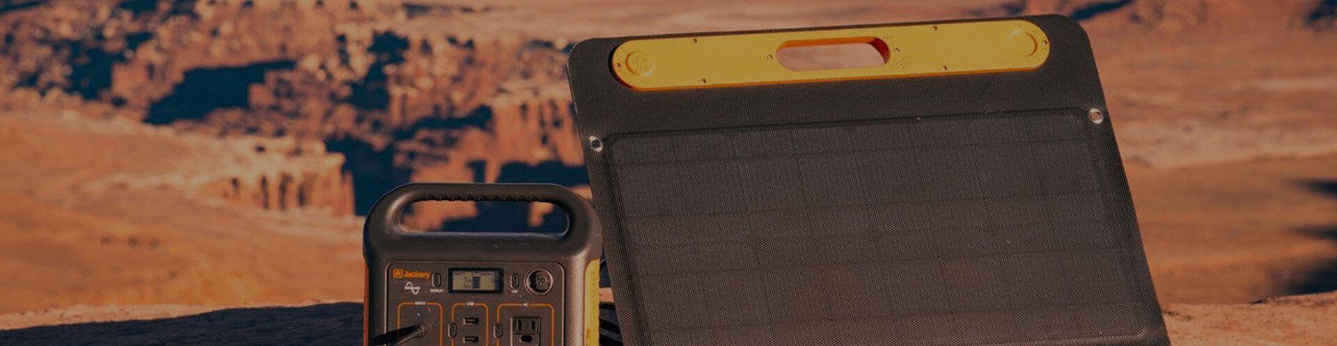 Fotografie solární panelu Jackery
