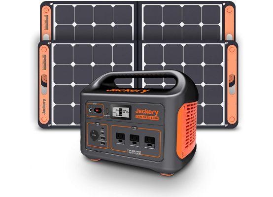 Jackery Explorer 1000 + 2x SolarSaga 100W